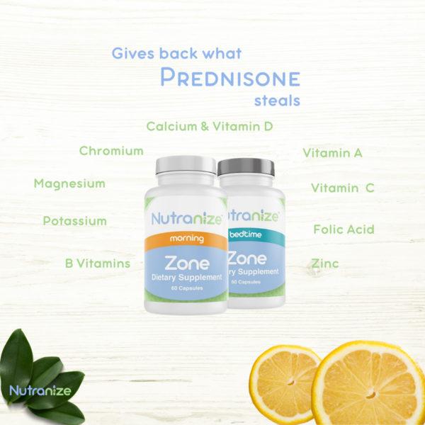 gives back vitamins prednisone steals