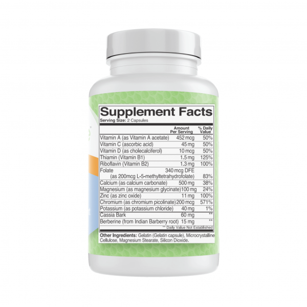 Nutranize Zone 2 Morning Supplement Facts Ingredients